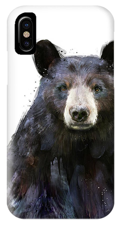 huge selection of ec1c6 e3f91 Black Bear IPhone X Case