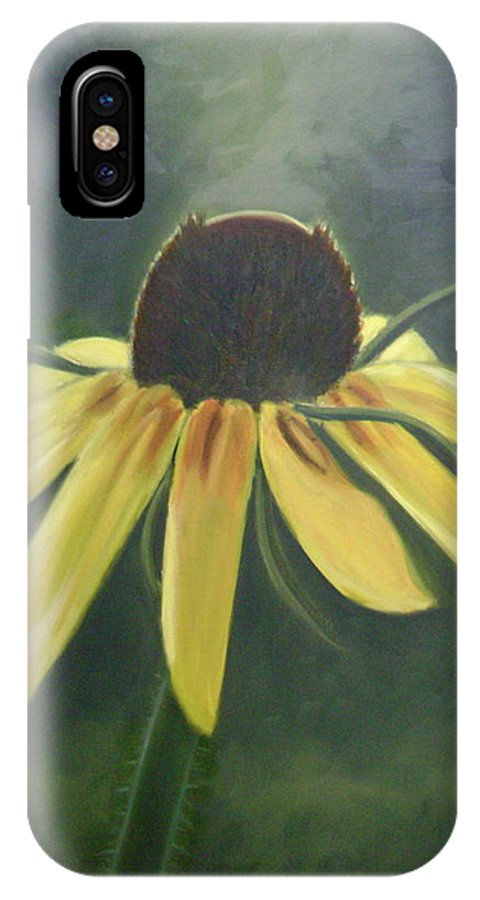 Flower IPhone Case featuring the painting Black Eyed Susan by Toni Berry
