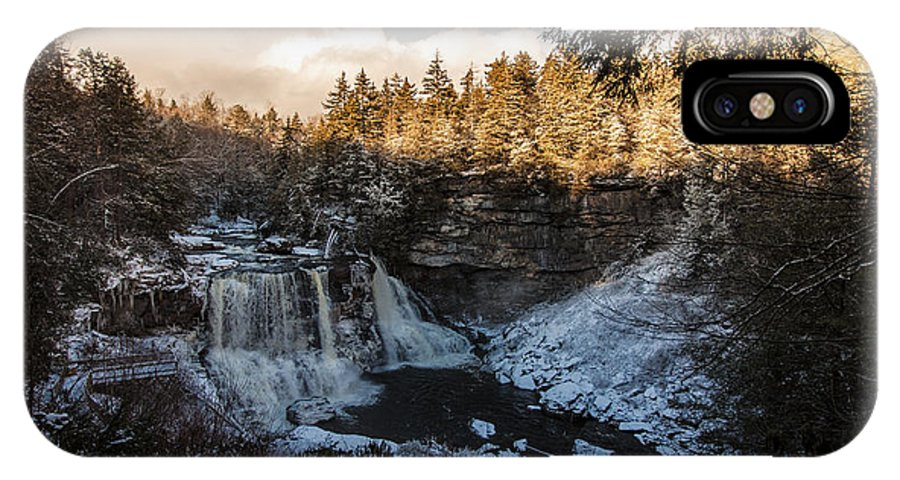 Blackwater Falls IPhone X / XS Case featuring the photograph Blackwater Falls by Robert Shields