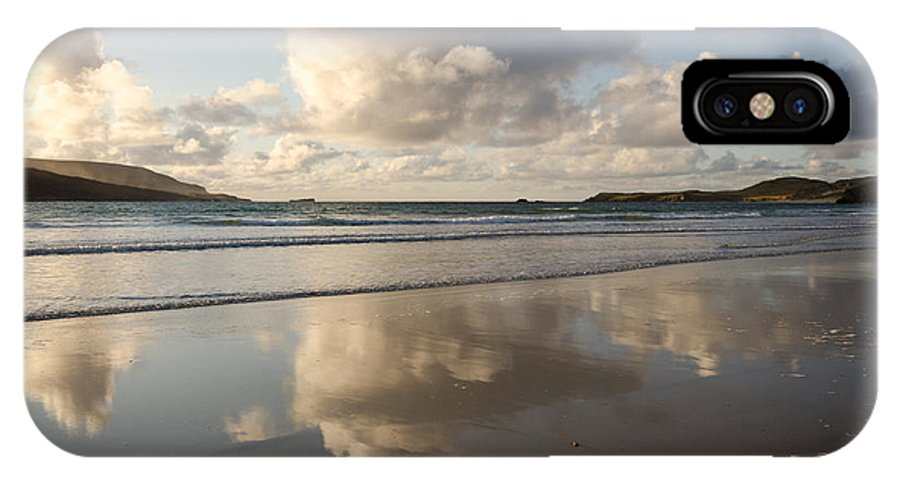 Balnakeil IPhone X Case featuring the photograph Balnakeil Beach by Smart Aviation