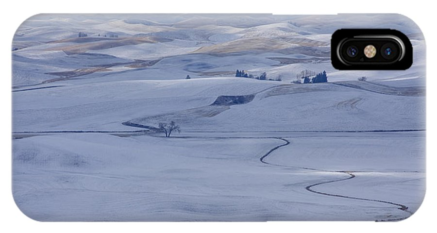 Palouse IPhone X Case featuring the photograph Blanketed Beauty by Idaho Scenic Images Linda Lantzy