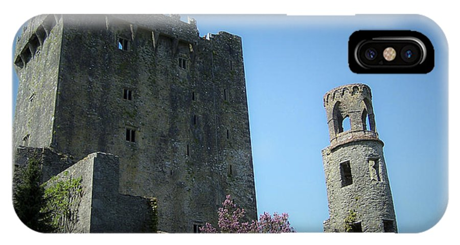 Irish IPhone X Case featuring the photograph Blarney Castle And Tower County Cork Ireland by Teresa Mucha