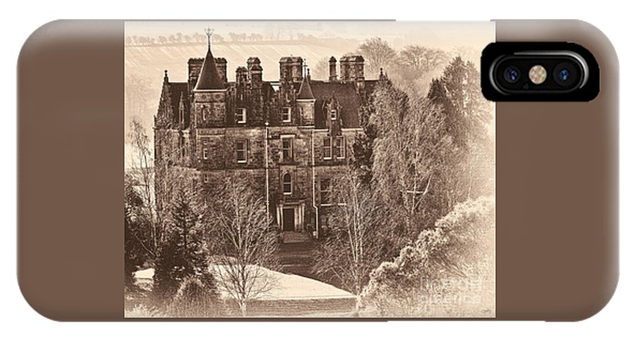 Blarney House IPhone X Case featuring the photograph Blarney House by Imagery by Charly