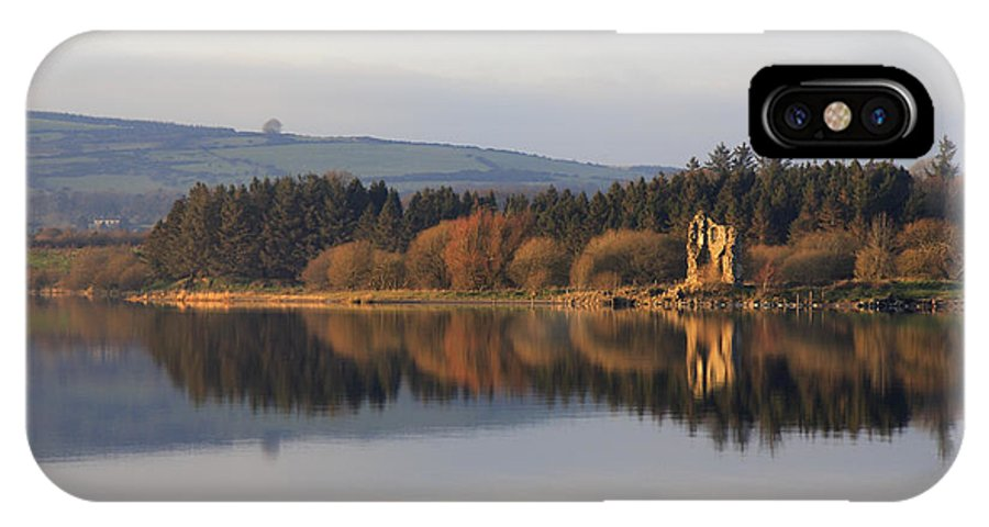 Lake IPhone X Case featuring the photograph Blessington Lakes by Phil Crean