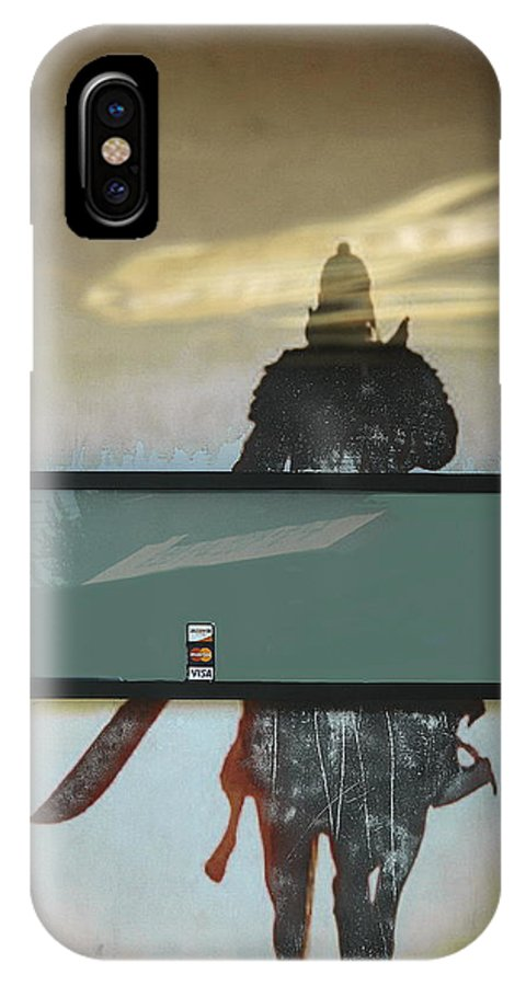Bloody Knight IPhone X Case featuring the photograph Bloody Knight by Viktor Savchenko