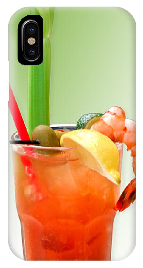 Drinks IPhone Case featuring the photograph Bloody Mary Hand-crafted by Christine Till