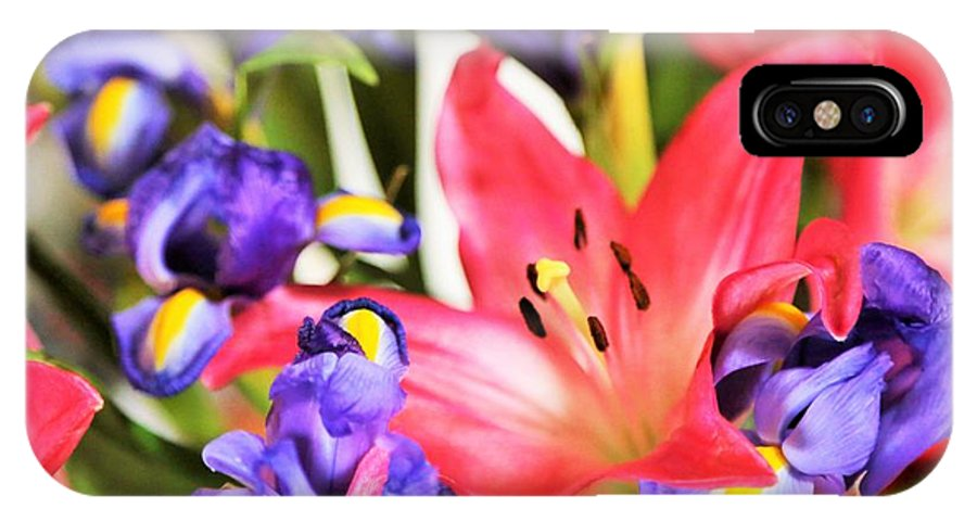 Landscape.hill Country.flowers.colors.prints IPhone X / XS Case featuring the photograph Blooming Colors by Jeff Downs