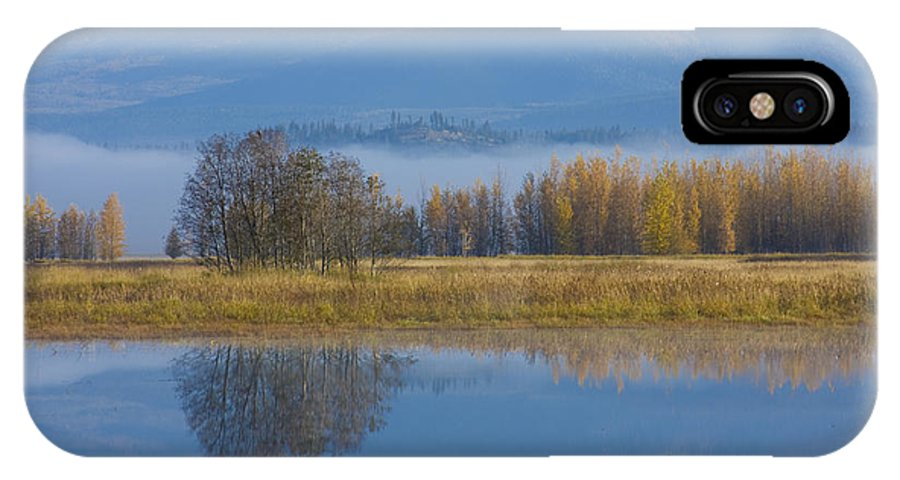 Blue IPhone Case featuring the photograph Blue And Gold by Idaho Scenic Images Linda Lantzy