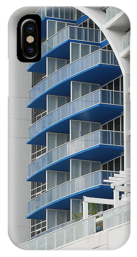 Architecture IPhone Case featuring the photograph Blue Bayu by Rob Hans