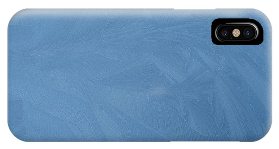 Blue IPhone Case featuring the photograph Blue Frost 2 by Paolo Marini