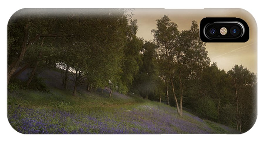 Bluebell IPhone X / XS Case featuring the photograph Bluebells by Angel Ciesniarska