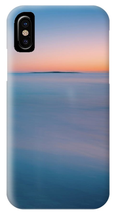 Vacation IPhone X Case featuring the photograph Blurry Ocean Sunrise by Anthony Doudt