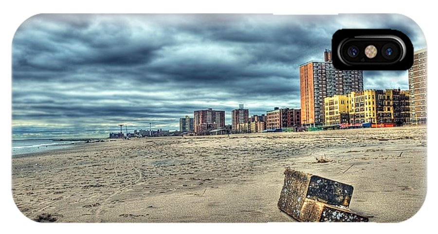 America IPhone X Case featuring the photograph Boardwalk by Svetlana Sewell