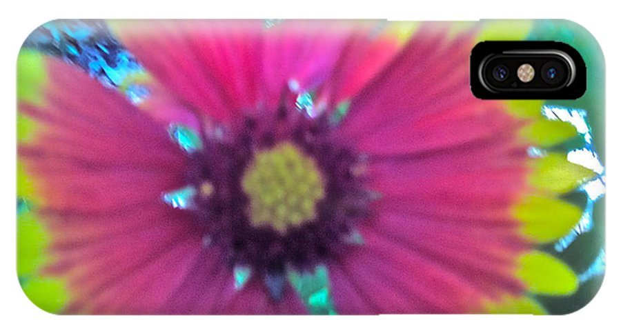 Bold And Different IPhone X Case featuring the photograph Bold And Different by Debra   Vatalaro