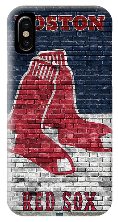 newest fbf2f d415f Boston Red Sox Brick Wall IPhone X Case