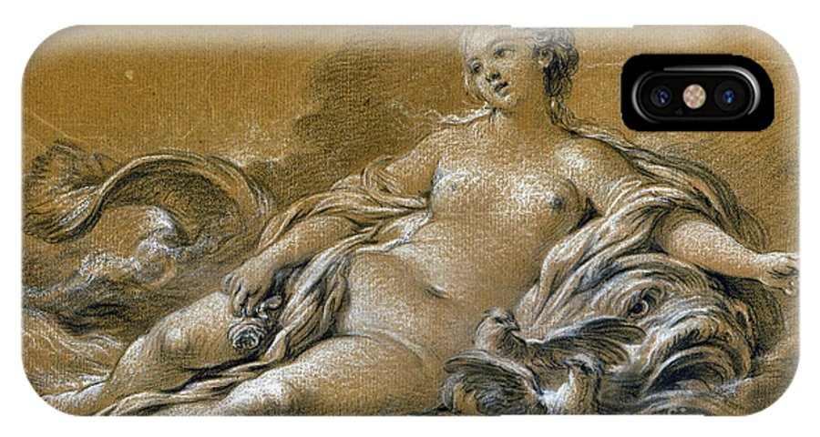 18th Century IPhone X Case featuring the photograph Boucher: Venus by Granger