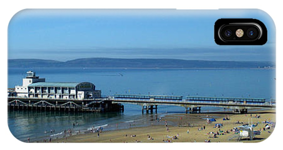 Bournemouth Pier IPhone X Case featuring the photograph Bournemouth Pier Dorset - May 2010 by Chris Day