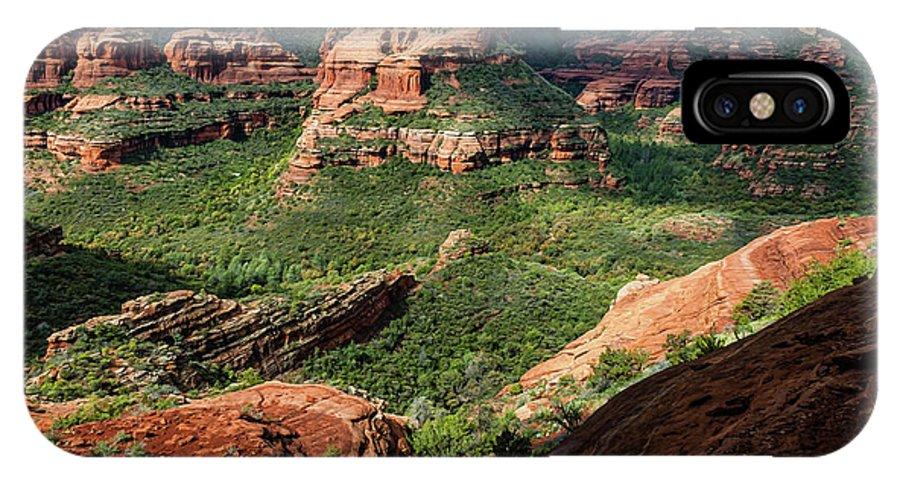 Arizona IPhone X Case featuring the photograph Boynton Canyon 05-942 by Scott McAllister