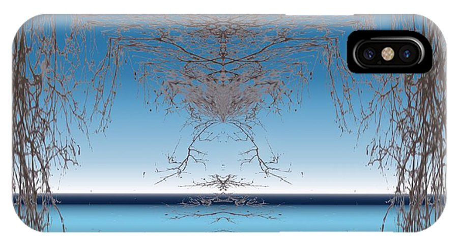 Branches IPhone X Case featuring the photograph Branching Outward by Tim Allen