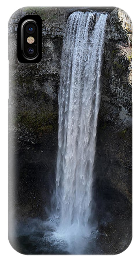 Brandywine IPhone X Case featuring the photograph Brandywine Falls Whistler by Pierre Leclerc Photography