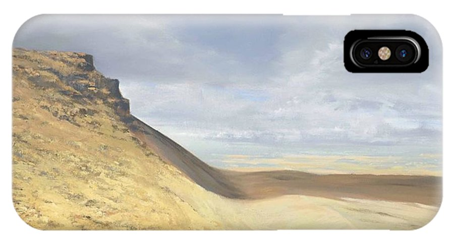 Brecon Beacons IPhone Case featuring the painting Brecon Beacons by Richard Picton