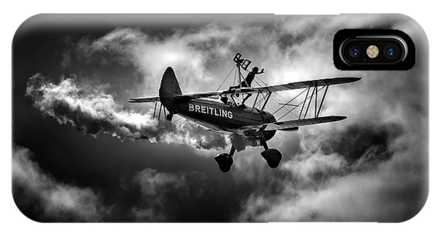 Breitling IPhone X Case featuring the photograph Breitling Walker 1 by Simon Garratt