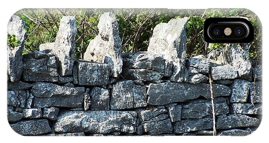 Irish IPhone Case featuring the photograph Briars And Stones New Quay Ireland County Clare by Teresa Mucha