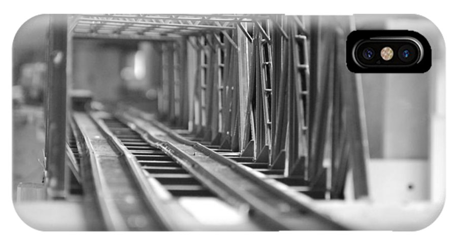 Models IPhone Case featuring the photograph Bridge To Jerry Town by Margaret Fortunato
