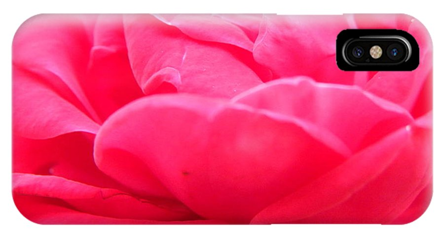 Nature IPhone X Case featuring the photograph Bright Pink by Shannon Turek