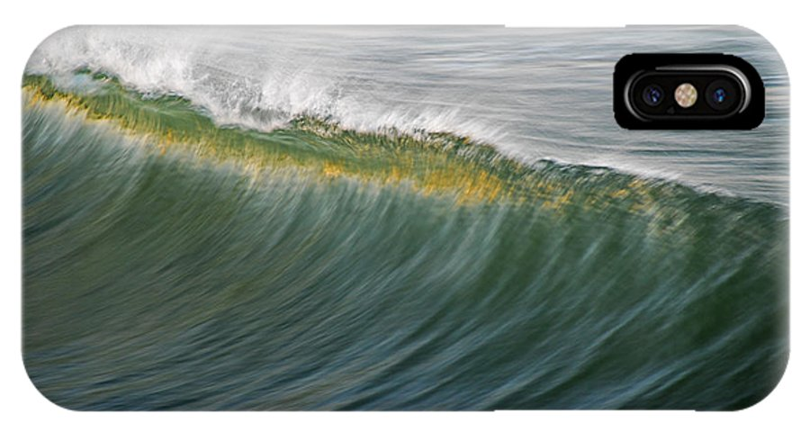 Wave IPhone X Case featuring the photograph Bright Wave by Kelly Wade