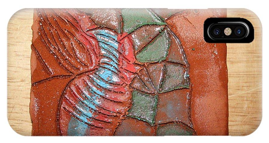 Jesus IPhone X Case featuring the ceramic art Brightspot - Tile by Gloria Ssali