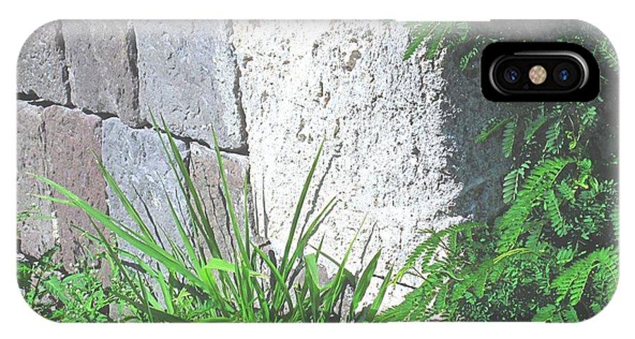 Brimstone IPhone X Case featuring the photograph Brimstone Wall by Ian MacDonald