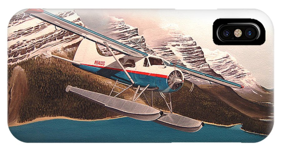 Aviation IPhone Case featuring the painting Bringing Home The Groceries by Marc Stewart