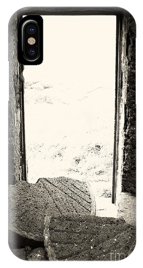 Azores IPhone X Case featuring the photograph Broken Millstone by Gaspar Avila