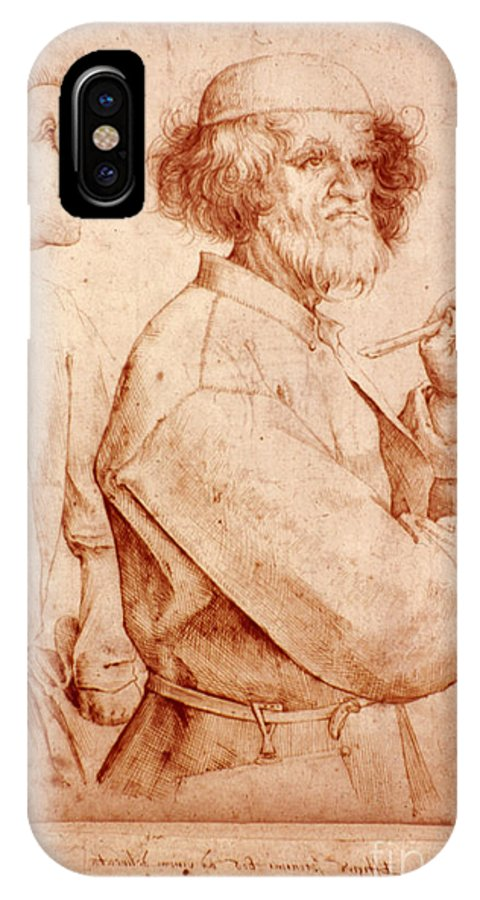 16th Century IPhone X Case featuring the photograph Bruegel: Painter, 1565 by Granger