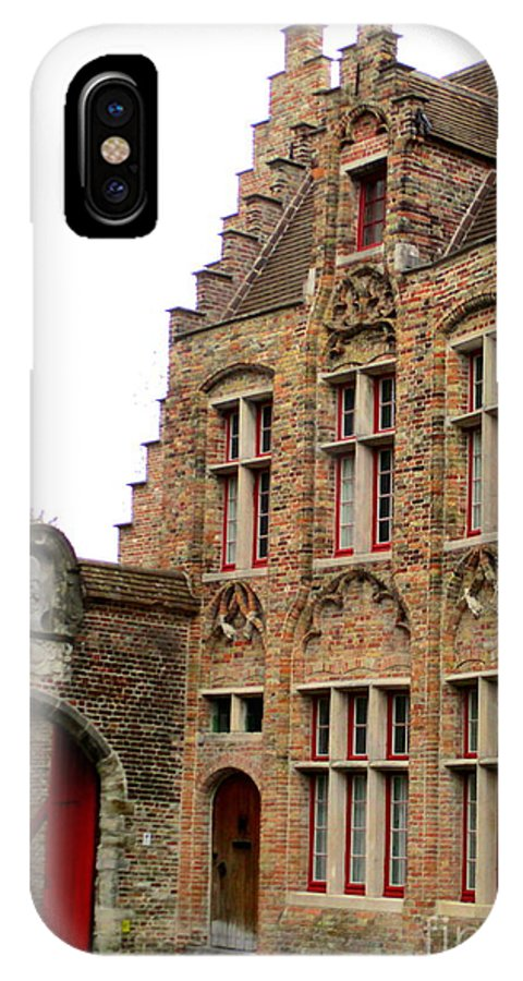 Bruges IPhone X Case featuring the photograph Bruges 10 by Randall Weidner