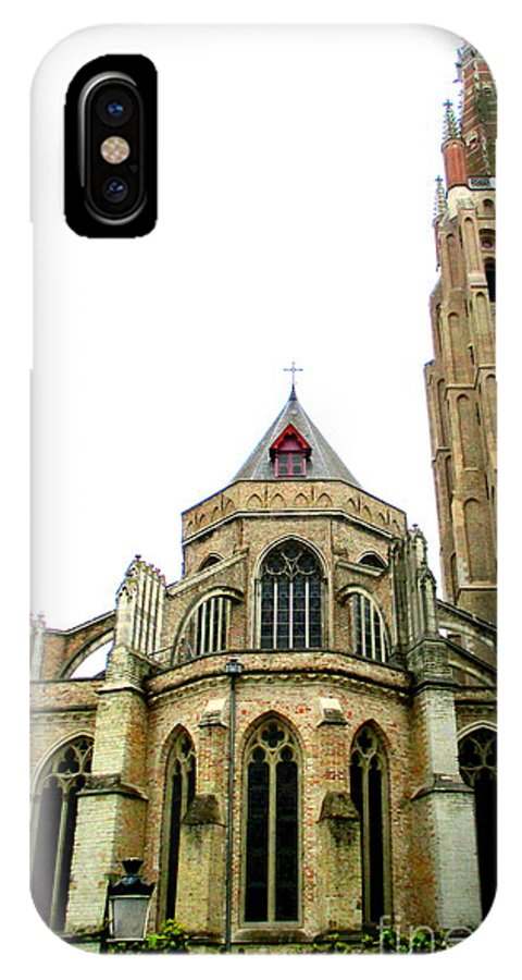 Bruges IPhone X Case featuring the photograph Bruges 16 by Randall Weidner