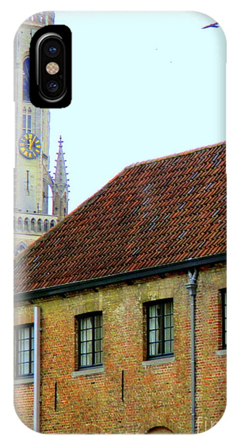 Bruges IPhone X Case featuring the photograph Bruges 18 by Randall Weidner
