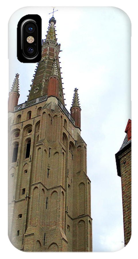 Bruges IPhone X Case featuring the photograph Bruges 20 by Randall Weidner