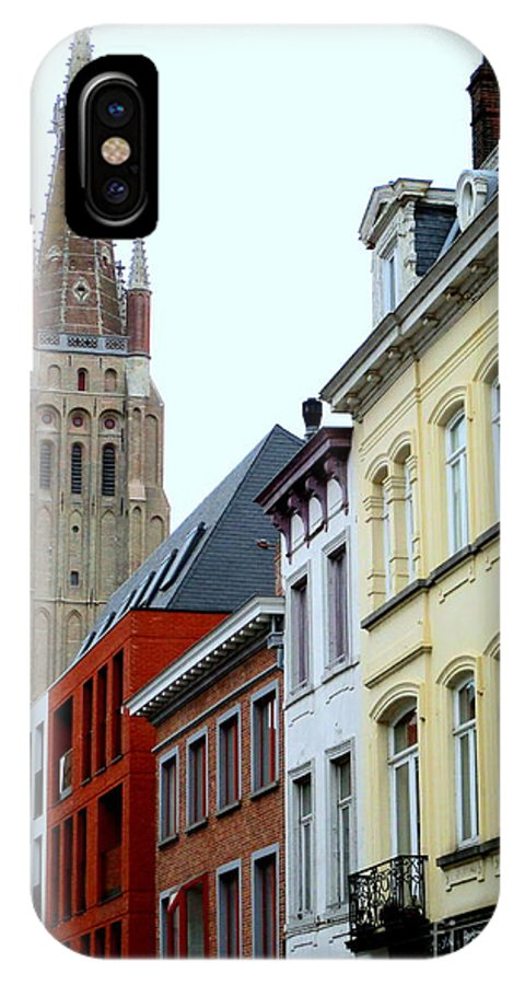 Bruges IPhone X Case featuring the photograph Bruges 3 by Randall Weidner