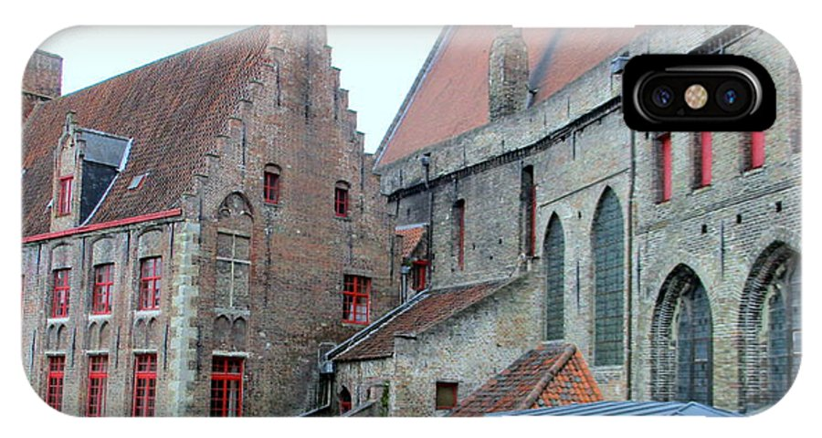Bruges IPhone X Case featuring the photograph Bruges 4 by Randall Weidner