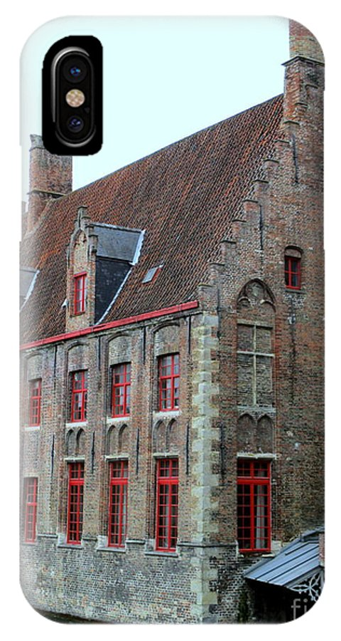Bruges IPhone X Case featuring the photograph Bruges 5 by Randall Weidner