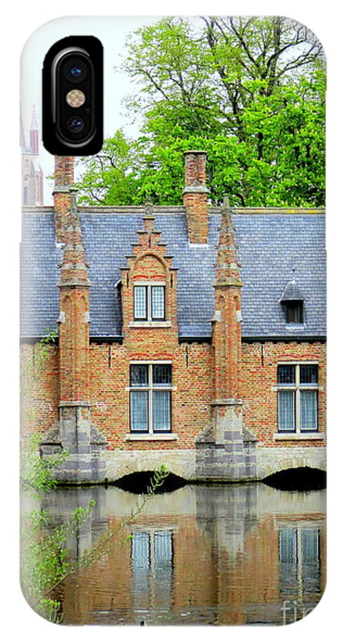 Bruges IPhone X Case featuring the photograph Bruges Sashuis 4 by Randall Weidner