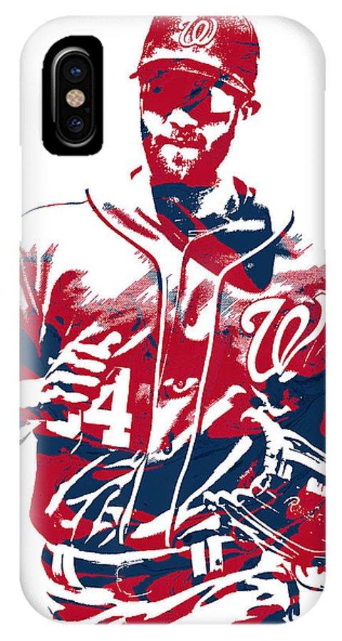 Bryce Harper Washington Nationals iphone case
