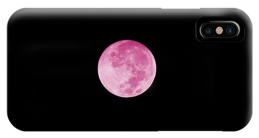 Bubblegum Moon Photography on IPhone Case
