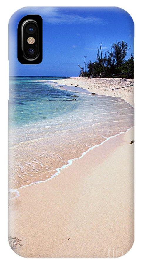 Beach IPhone X Case featuring the photograph Buck Island Beach by Thomas R Fletcher