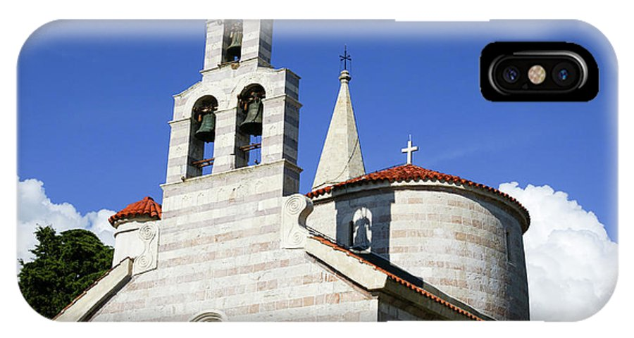 Travel IPhone X Case featuring the photograph Budva, Montenegro by Ruth Hofshi