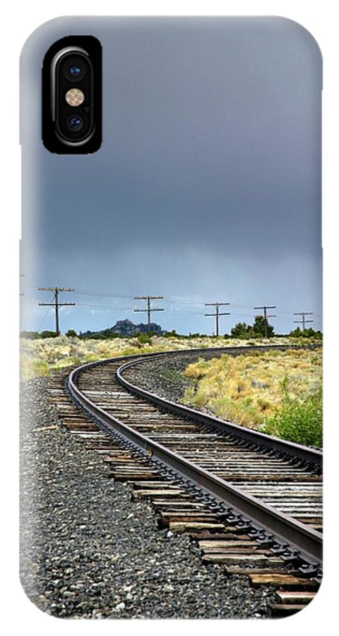 Buena Vista IPhone X Case featuring the photograph Buena Vista Storm by Chris Anthony