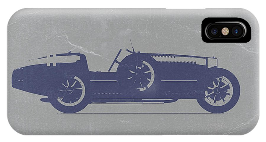 Bugatti Type 35 IPhone X Case featuring the photograph Bugatti Type 35 by Naxart Studio