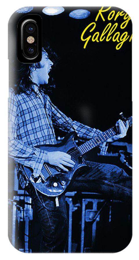 Rock Musicians IPhone X Case featuring the photograph Bullfrog Blues 2 by Ben Upham